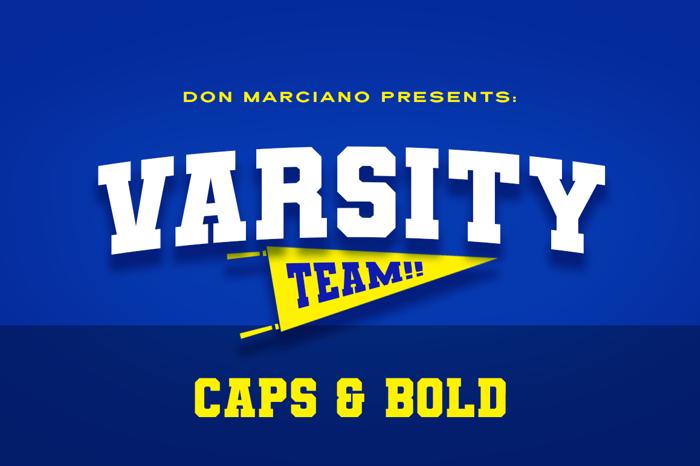 Varsity Team poster