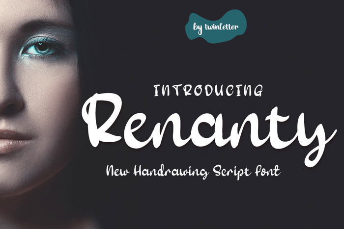 Renanty Font poster