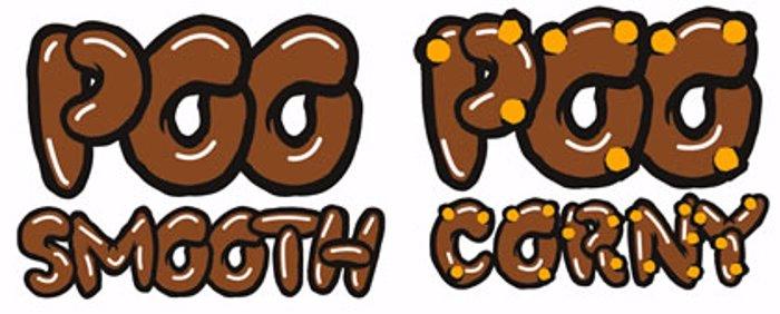 PooCorny Font poster