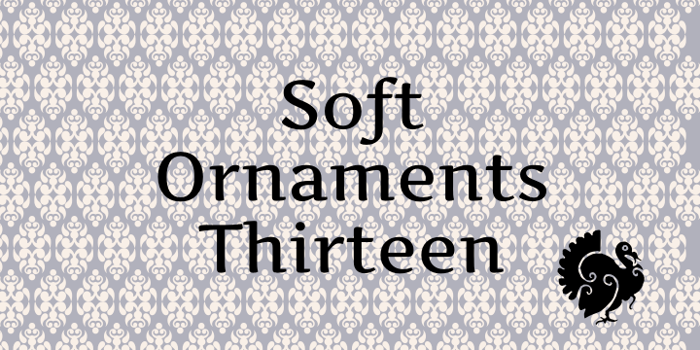 Soft Ornaments Thirteen Font poster