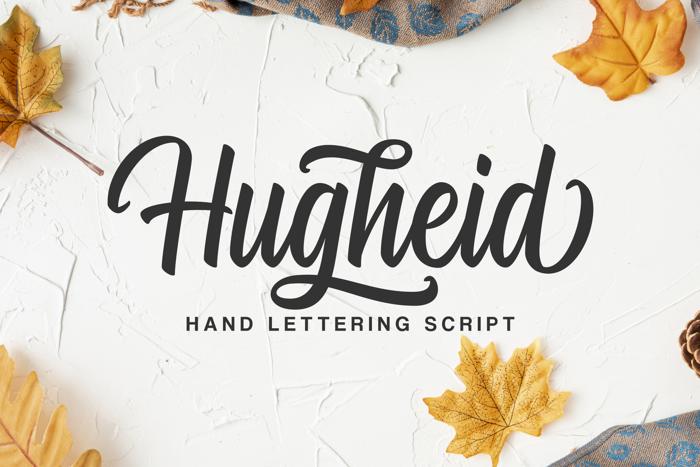 Hugheid Font poster