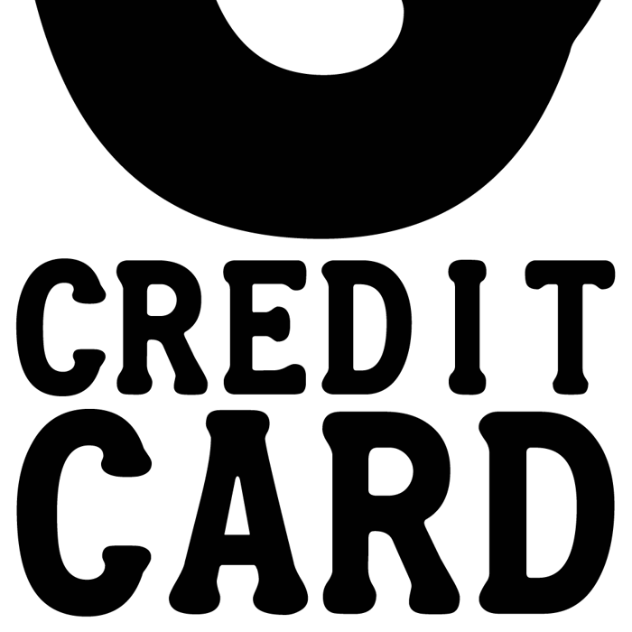 Credit Card Font poster