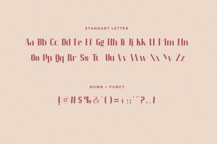 Novintha Font poster