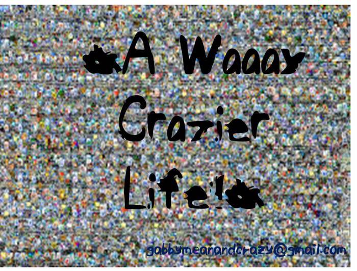 ELFAWaaayCrazierLife Font poster