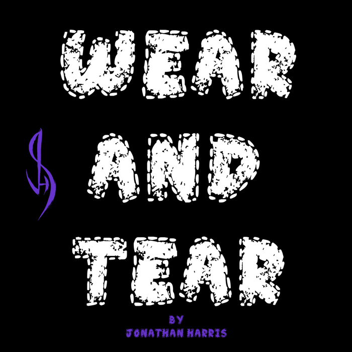 Wear and Tear Font poster