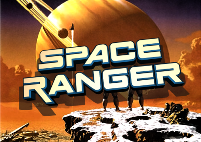 Space Ranger Font poster