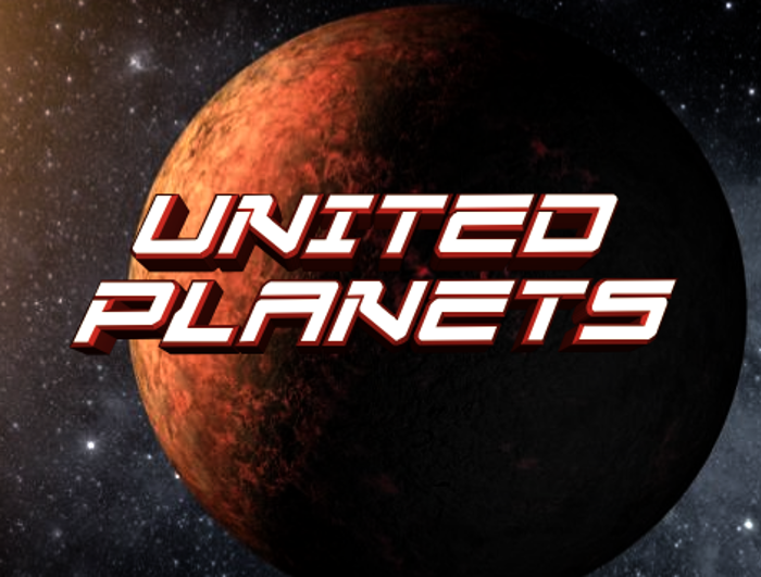 United Planets Font poster