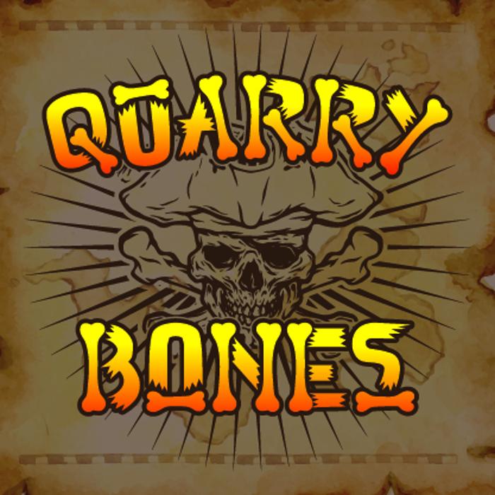 Quarry Bones Font poster