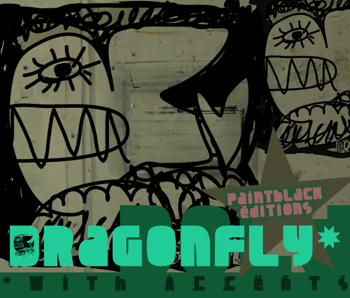 Dragonfly Font poster
