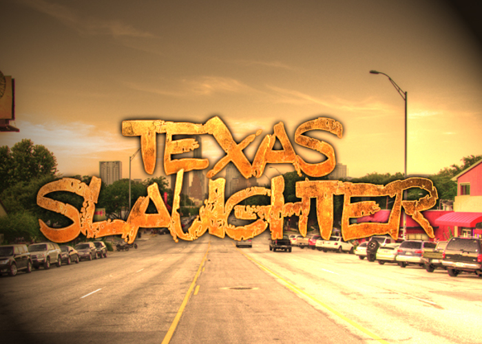 Texas Slaughter Font poster