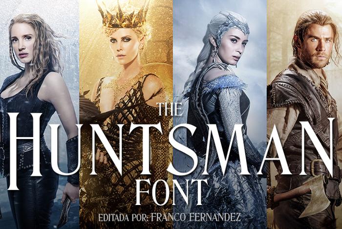 The Huntsman Font poster