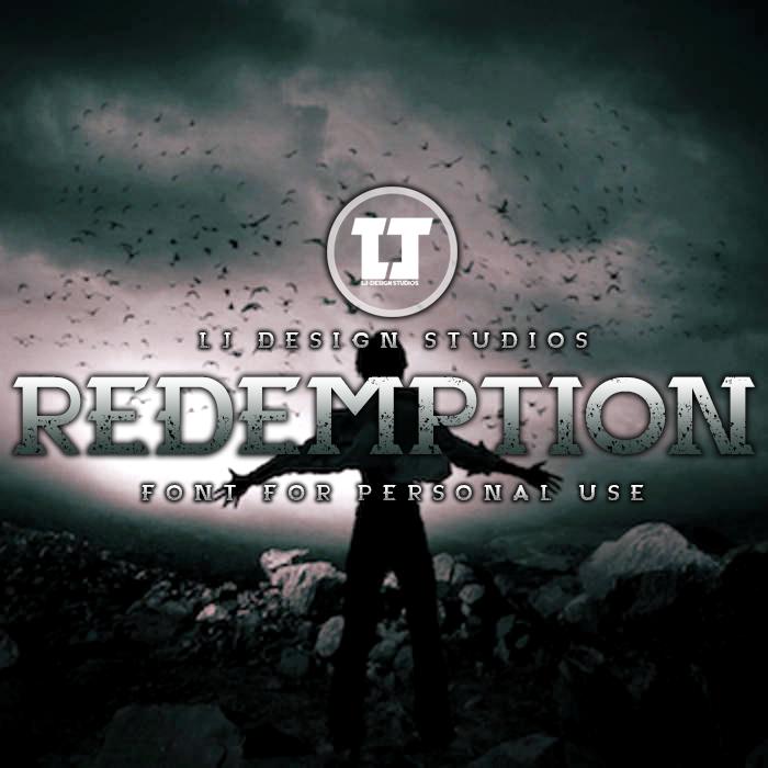 Redemption Font poster