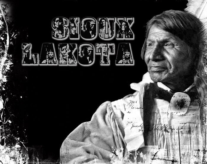 Sioux Font poster