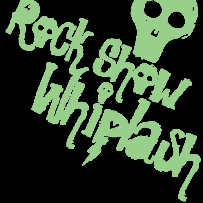 Rock Show Whiplash Font poster
