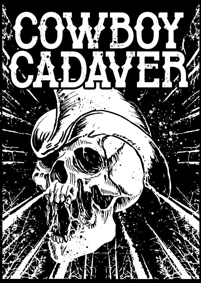 Cowboy Cadaver Font poster