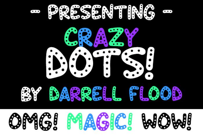 Crazy Dots Font
