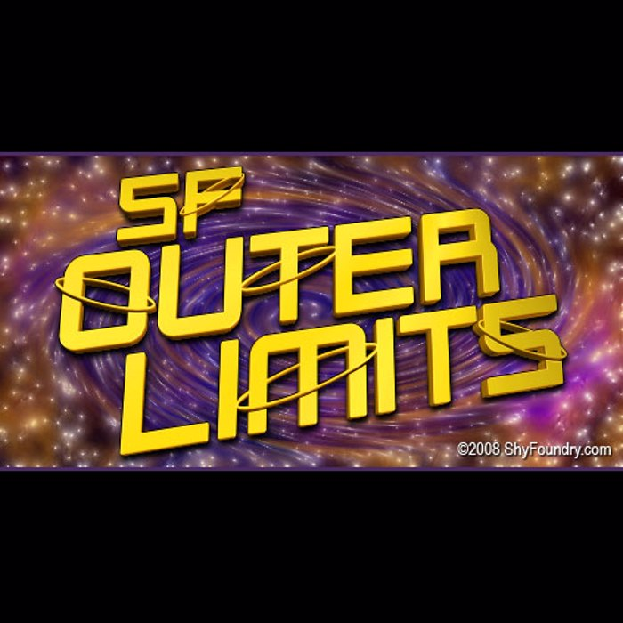 SF Outer Limits Font poster