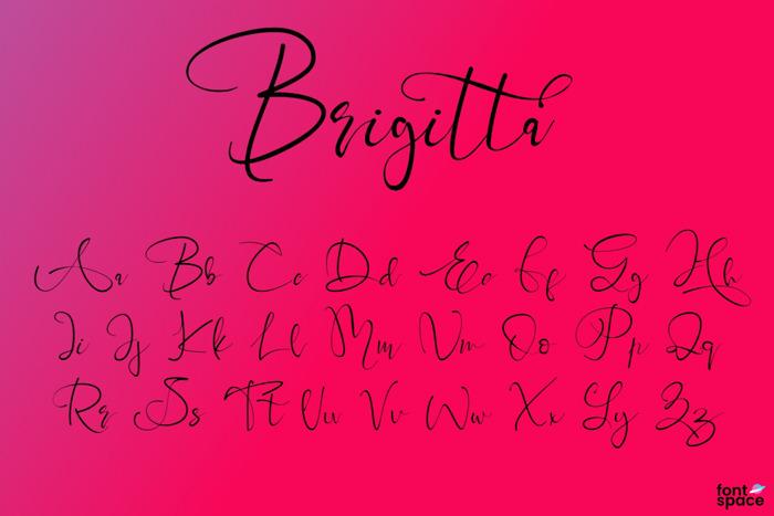 Brigitta Font poster