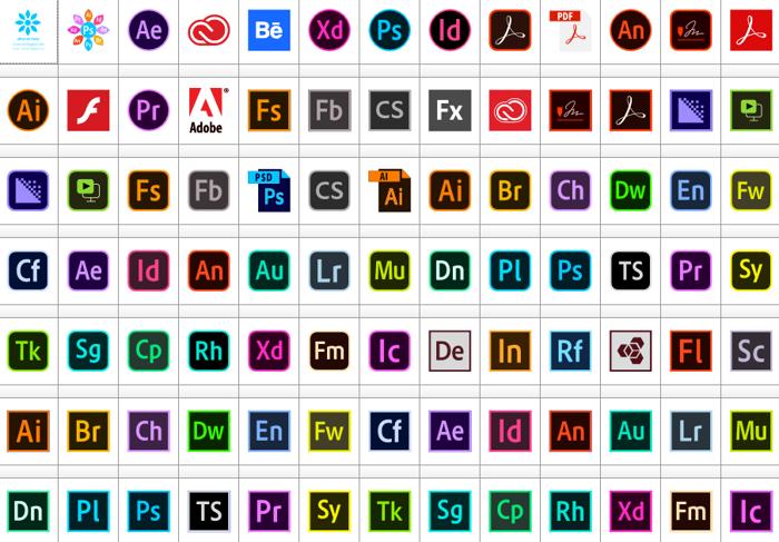 Font Adobe Color poster
