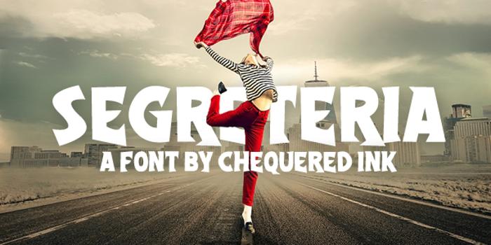 Segreteria Font poster