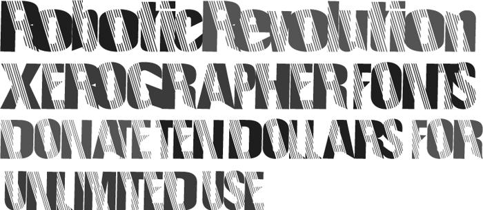 RoboticRevolution Font poster