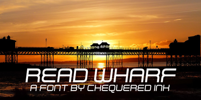 Read Wharf Font poster