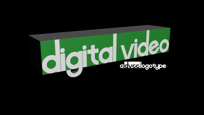 Digital Video Font poster