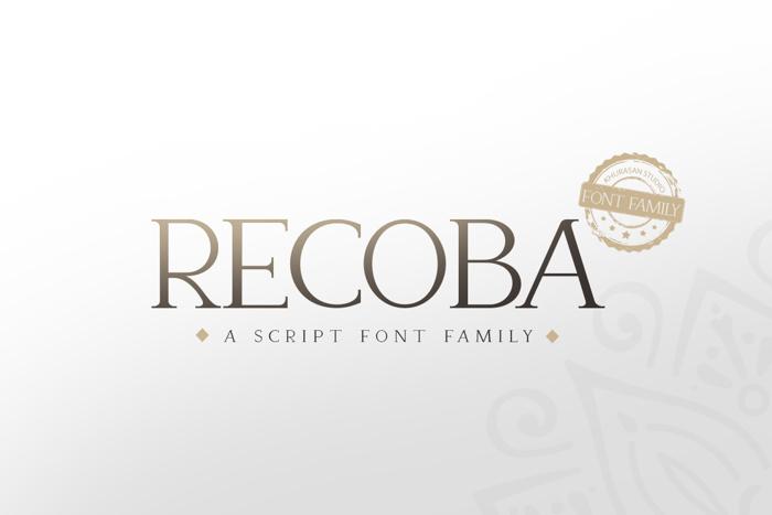Recoba Font