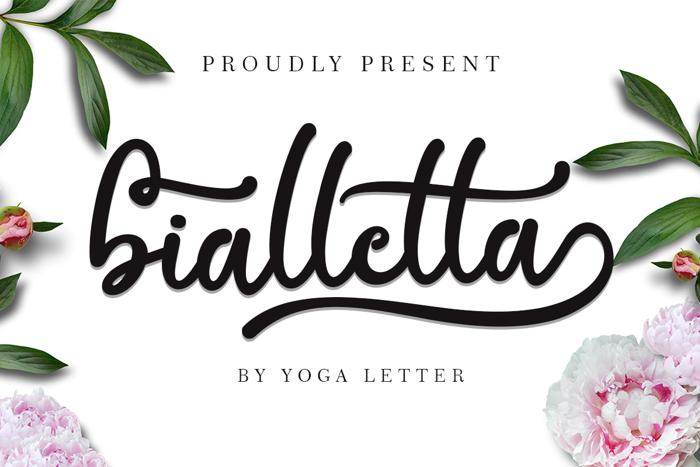 bialletta Font poster