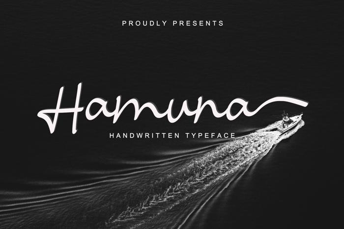 Hamuna Font