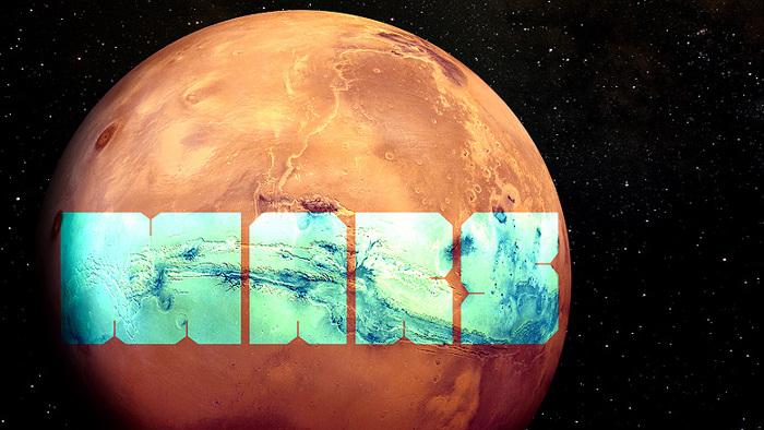 MARS Font poster
