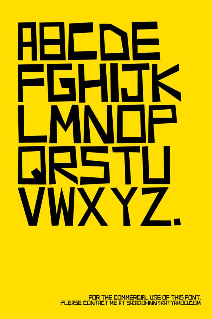 RICHMOND Font poster