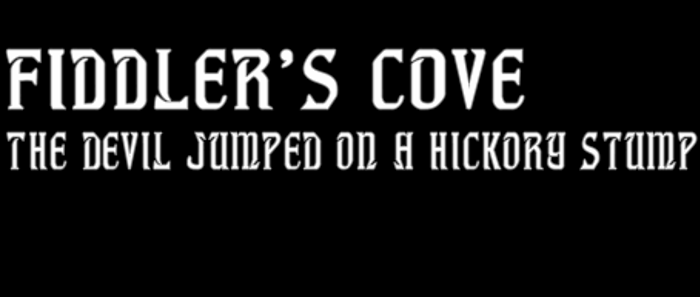 Fiddler's Cove Font poster