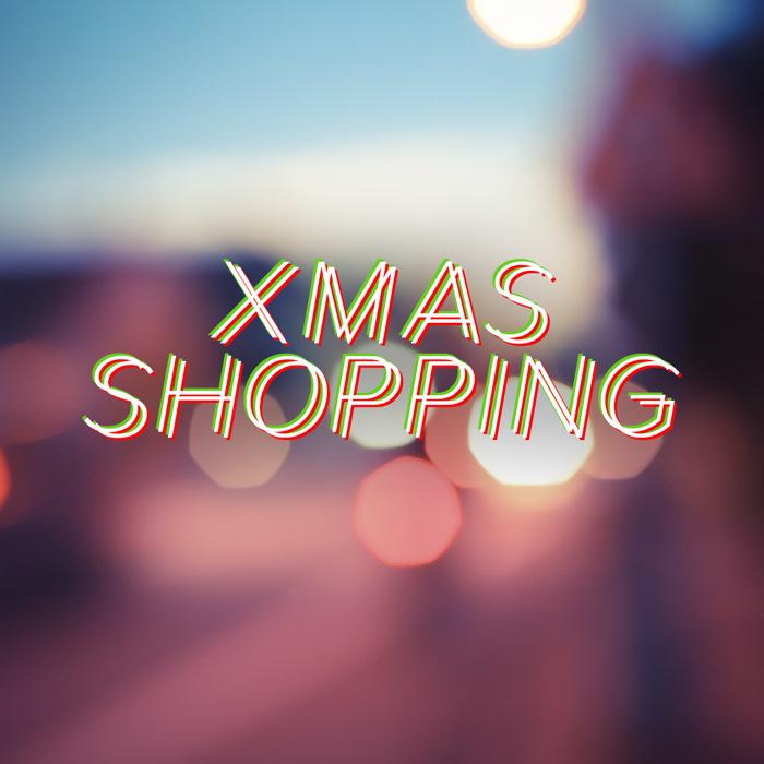 Xmas Shopping Font poster
