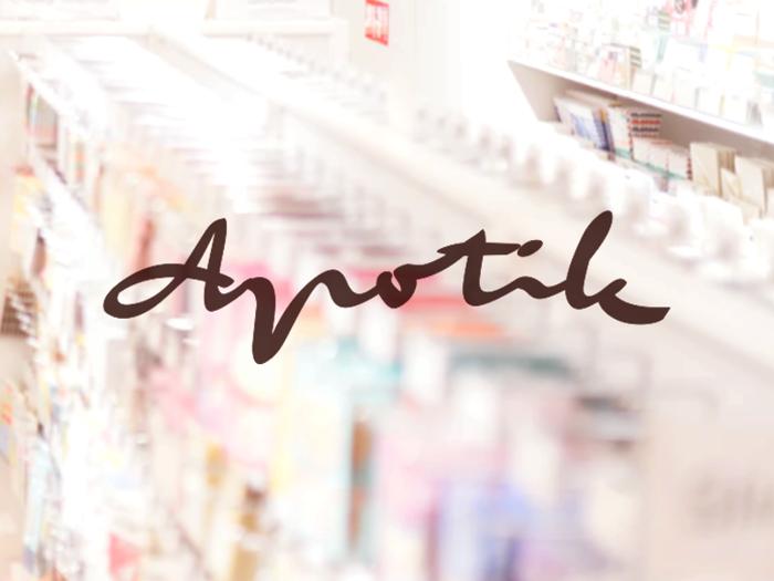 a Apotik Font poster