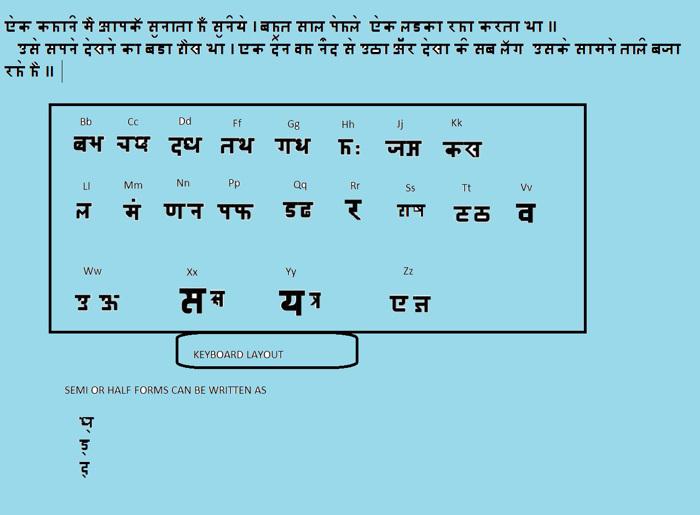 devnagri niri Font poster