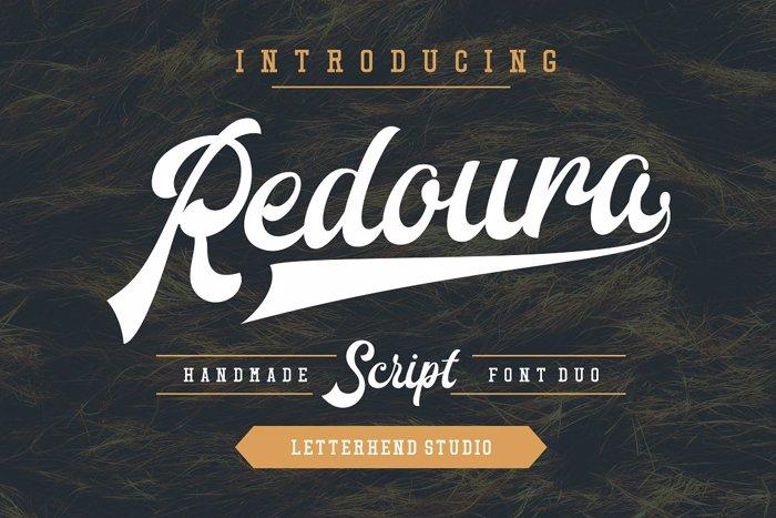 Redoura Font poster