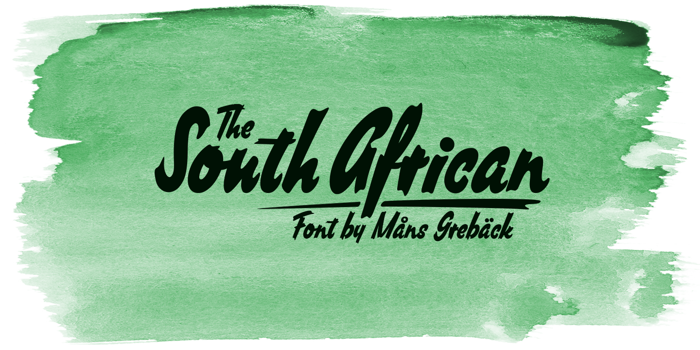 South African Font