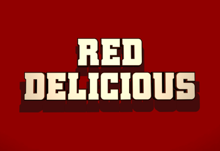 Red Delicious Font poster