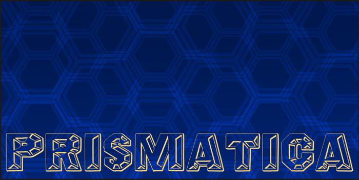 Prismatica Font poster