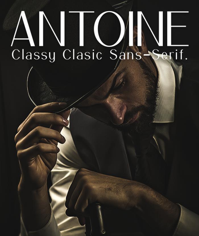 Antoine Font poster