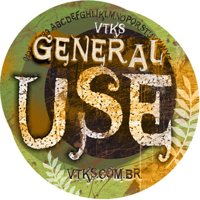 VTKS GENERAL USE Font poster