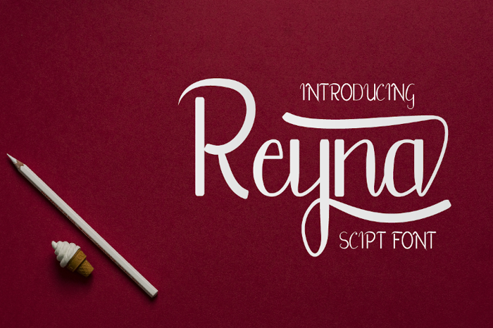 Reyna Font poster