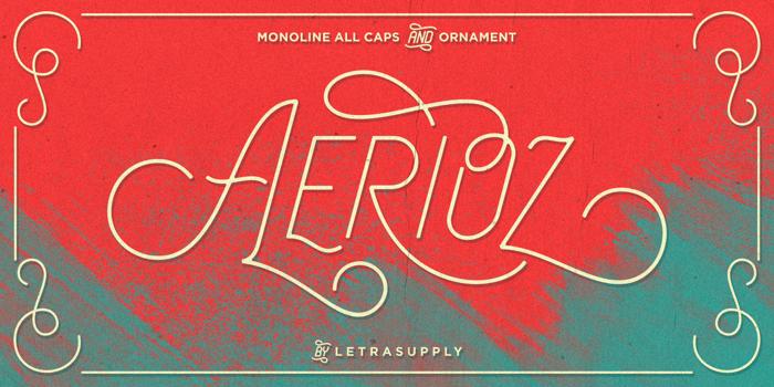 Aerioz Demo Font poster
