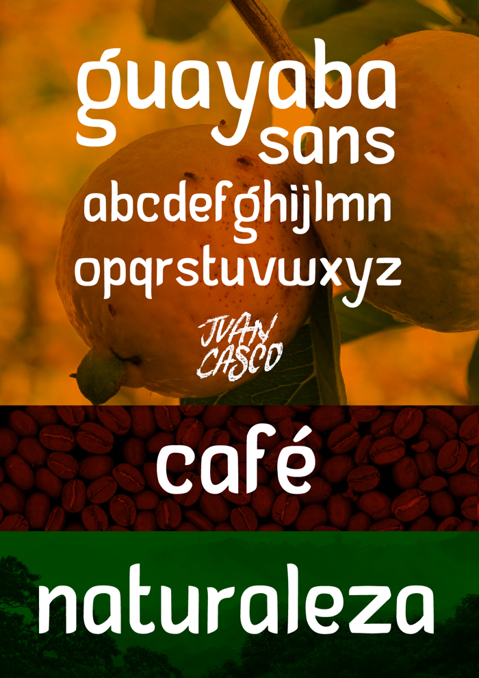 Guayaba Sans Font poster