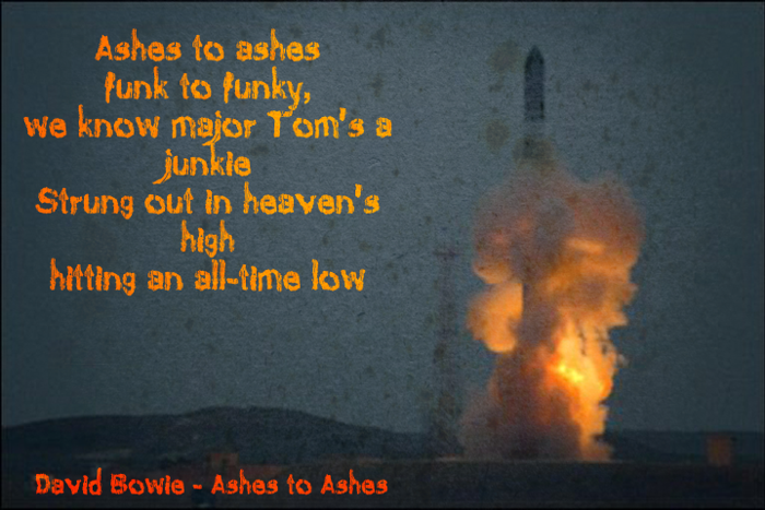 Ashes To Ashes Font poster