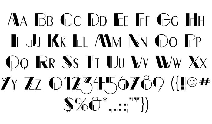 RightBankFLF Font poster