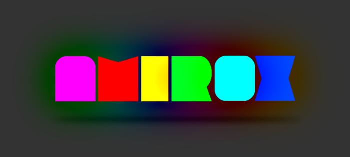 Amirox Font poster