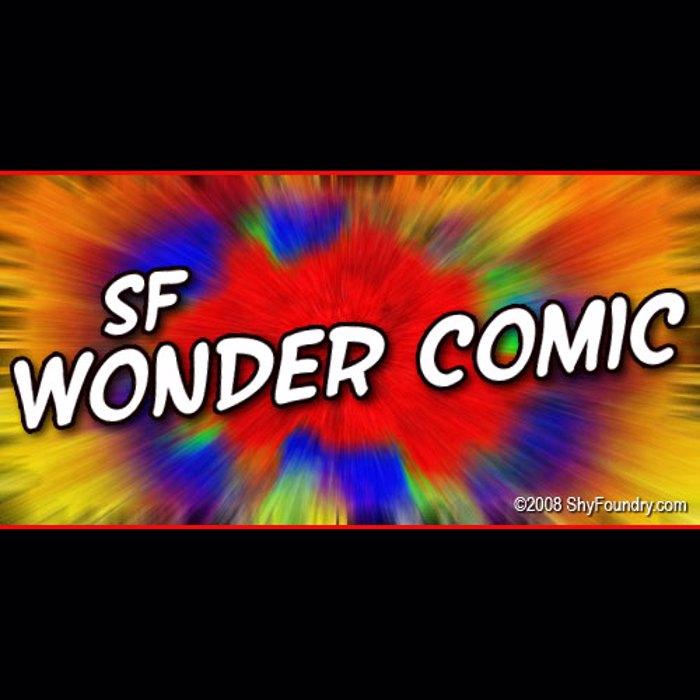 SF Wonder Comic Font poster
