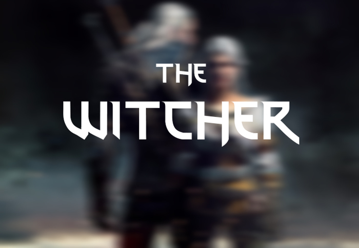 thewitcher Font poster